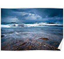 Stormy Seas Poster