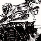 Guts The Black Swordsman  by HolyDemonKnight