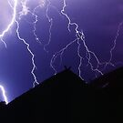 Lightning strike by John Spies