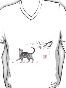 Play it cool sumi-e painting T-Shirt