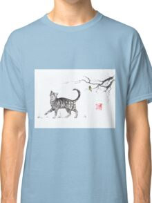 Play it cool sumi-e painting Classic T-Shirt
