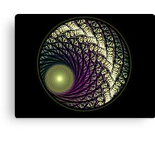 Stain Glass Orb Canvas Print