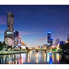 """"""" City Of Melbourne ' by Mat Moore"""