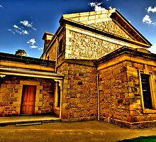 Colonial Justice - Beechworth Courthouse - Beechworth, Victoria - The HDR Experience by Philip Johnson