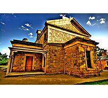 Colonial Justice - Beechworth Courthouse - Beechworth, Victoria - The HDR Experience Photographic Print