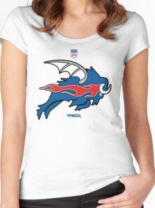 Wild Buffalo Bill Wings Women's Fitted Scoop T-Shirt