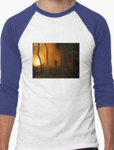 Greek Riots Men's Baseball ¾ T-Shirt