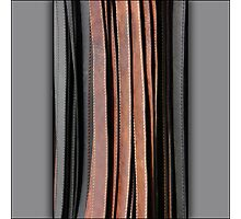 Leather lines Photographic Print