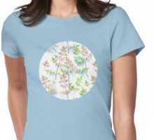 Leaves in the Light Womens Fitted T-Shirt