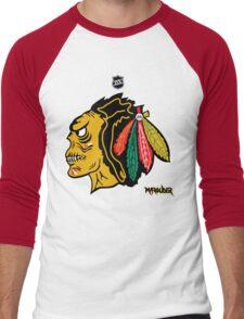 Chi Town Hockey Club Men's Baseball ¾ T-Shirt