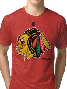 Chi Town Hockey Club Tri-blend T-Shirt
