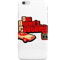 Doc Brown's Custom iPhone Case/Skin