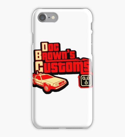 Doc Brown's Custom iPhone Case/Skin