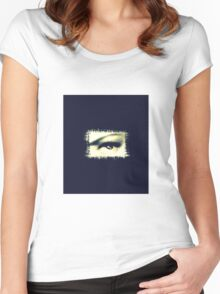 Distorted vision  Women's Fitted Scoop T-Shirt