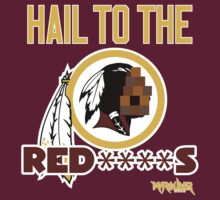 Hail to the Red****s!! by Summo13