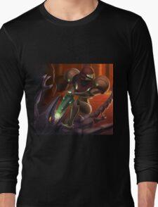 Samus vs Ridley Long Sleeve T-Shirt
