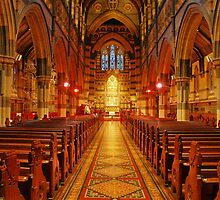 St Paul's Cathedral, Melbourne by Harry Oldmeadow