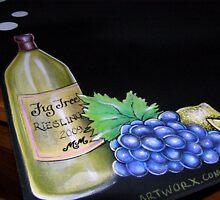 Cucina Kitchen Blackboard detail by snapper238