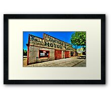 Clean Your Windscreen ? - Yackandandah, Victoria - The HDR Experience Framed Print