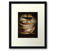 Cino for Two Framed Print