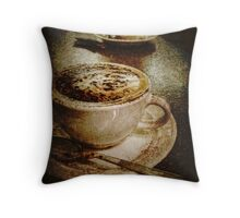Cino for Two Throw Pillow