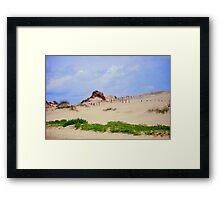Cape Hatteras State Park Dunes Framed Print
