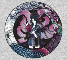 Sakurahri ~ The Cherry Blossom Fox One Piece - Long Sleeve