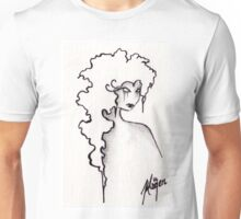 Albion- ACEO in Monochrome Unisex T-Shirt