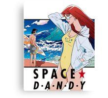 Space Dandy Canvas Print