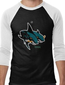 The 2 Headed Sharks From San Jose Men's Baseball ¾ T-Shirt