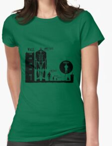 Titan Size Comparison Womens Fitted T-Shirt