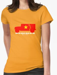 BUMMER HUMMER • Mao in China Womens Fitted T-Shirt