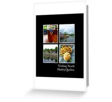 North Hatley.Quebec Greeting Card