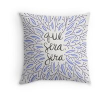 Whatever Will Be, Will Be (Lavender Palette) Throw Pillow