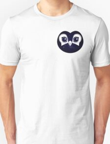 Dark Blue Owl Unisex T-Shirt