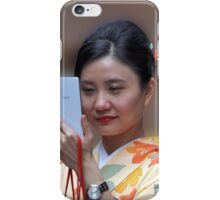 Geisha Selfie iPhone Case/Skin