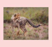 Carefree Cheetah Cub Kids Tee
