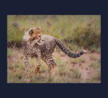 Carefree Cheetah Cub One Piece - Short Sleeve