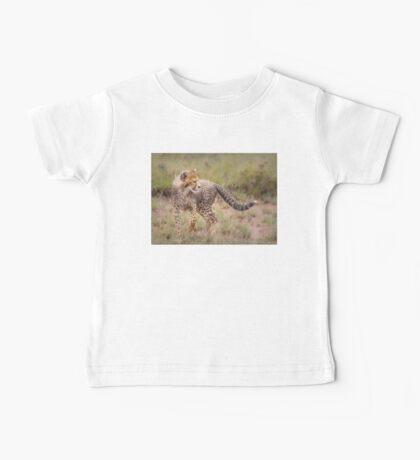 Carefree Cheetah Cub Baby Tee