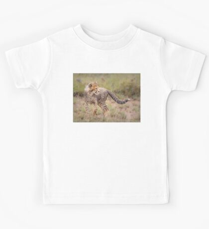Carefree Cheetah Cub Kids Tee