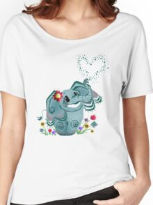 Blair the Elephant Women's Relaxed Fit T-Shirt