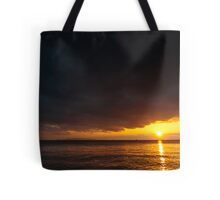 Under an angry sky. Tote Bag
