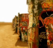 Cadillac Ranch by Christine Elise McCarthy