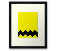 Diagonal Framed Print