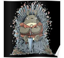 totoro thrones Poster