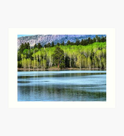 Yankee Lake 1 Art Print