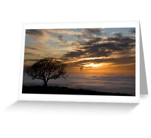 Foggy View Greeting Card