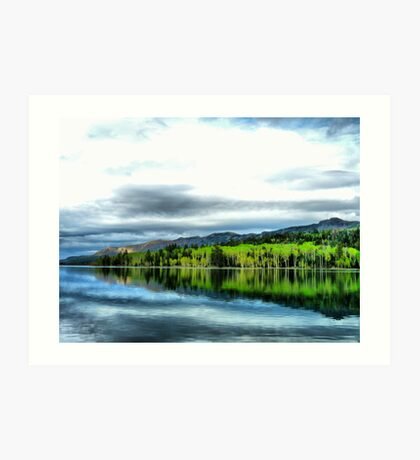 Yankee Lake 0 Art Print