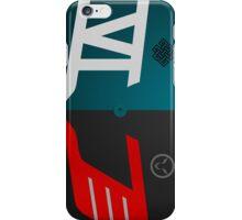 Lewis Hamilton Vs Nico Rosberg ©peewiedesigns iPhone Case/Skin