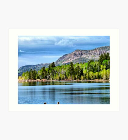 Yankee Lake 4 Art Print